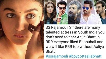 Bollywood Nepotism : RRR లో ఆలియా భట్ వద్దు అంటున్న Sushant Singh Rajput ఫ్యాన్స్