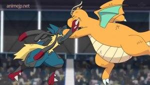 Pokemon sword and shield Episode 25 English Subbed | Battle Exploding with Life vs Mega Lucario