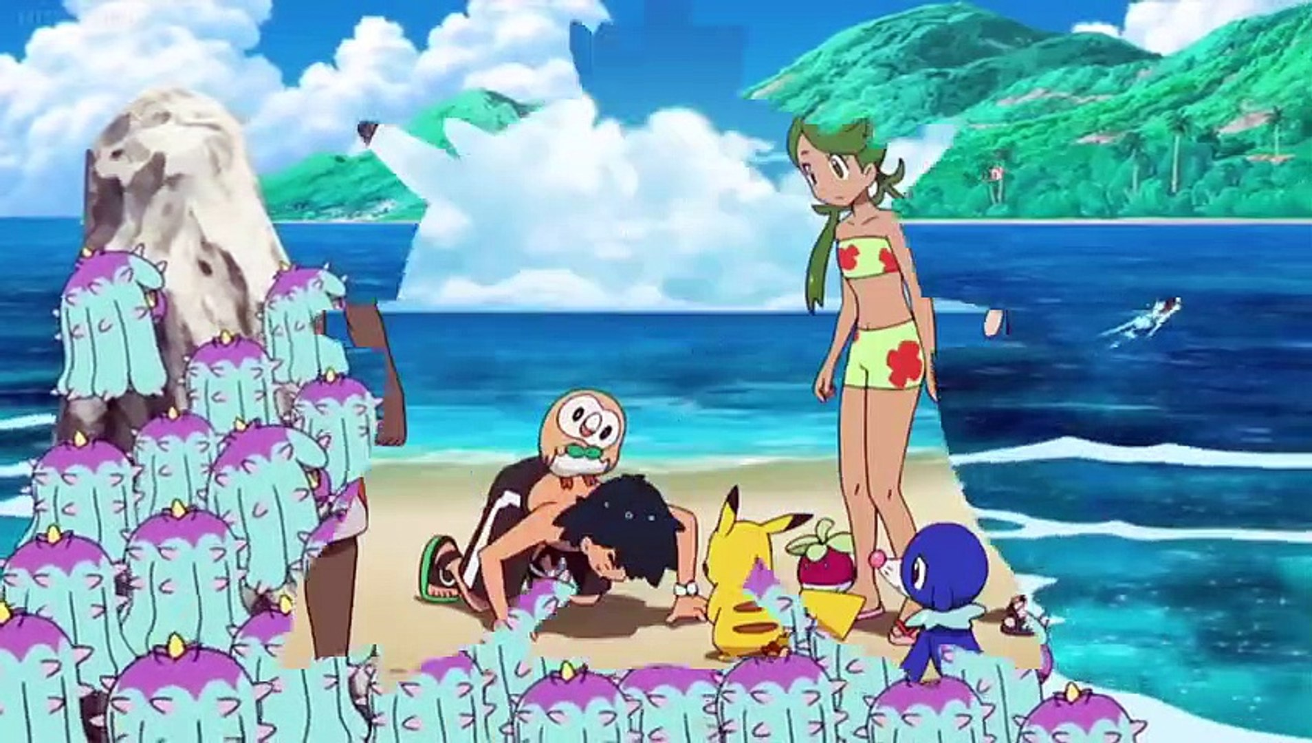 Pokemon sun and moon episode 12 English dubbed - video dailymotion