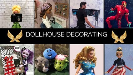 Dollhouse Decorating: The Treehouse Part 1