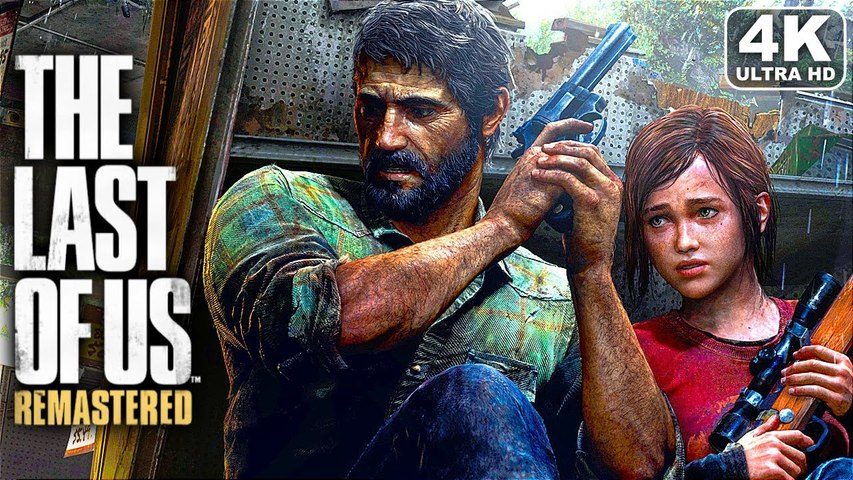 THE LAST OF US REMASTERED - All Cutscenes Full Movie