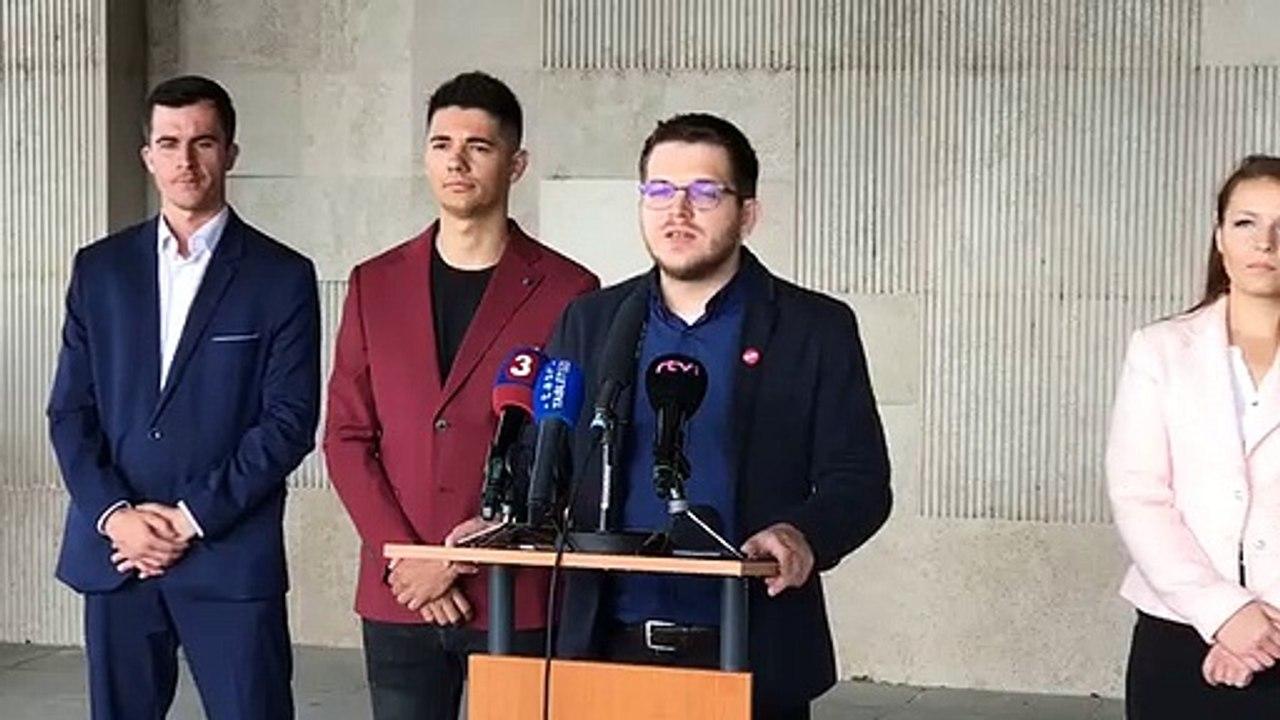 ZÁZNAM: TK občianskeho združenia Mladí sociálni demokrati (MSD)