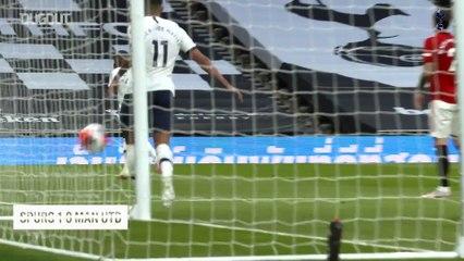 Steven Bergwijn'in Manchester United'a Attığı Golün Saha Kenarı Çekimi