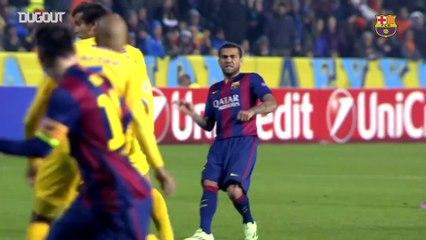 Lionel Messi-Dani Alves İşbirliği