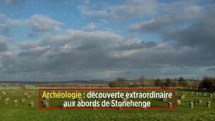 Archéologie : découverte extraordinaire aux abords de Stonehenge - Le Point