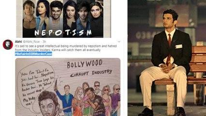Sushant Singh Rajput: Netizens Demands Be Fair In Sushant Case| #BeFairInSSRCase