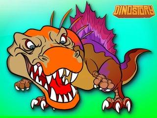 SPINOSAURUS SONG | Dinosaur Battles - Spinosaurus vs T-Rex | Dinosaur Songs by Howdytoons