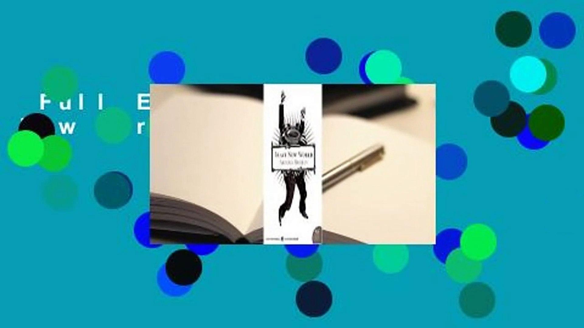 Full E-book  Brave New World  For Free