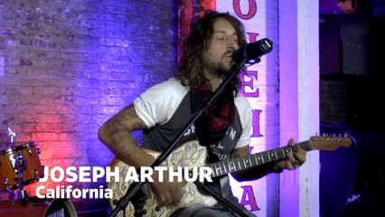 "Dailymotion Elevate: Joseph Arthur - ""California"" live at Cafe Bohemia, NYC"