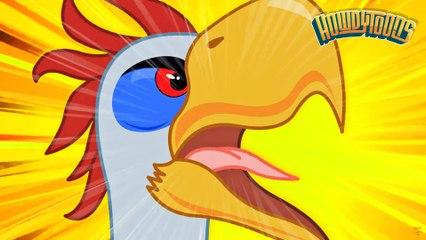 TITANIS THE TERROR BIRD | Terror Bird Song | Prehistorica from Howdytoons
