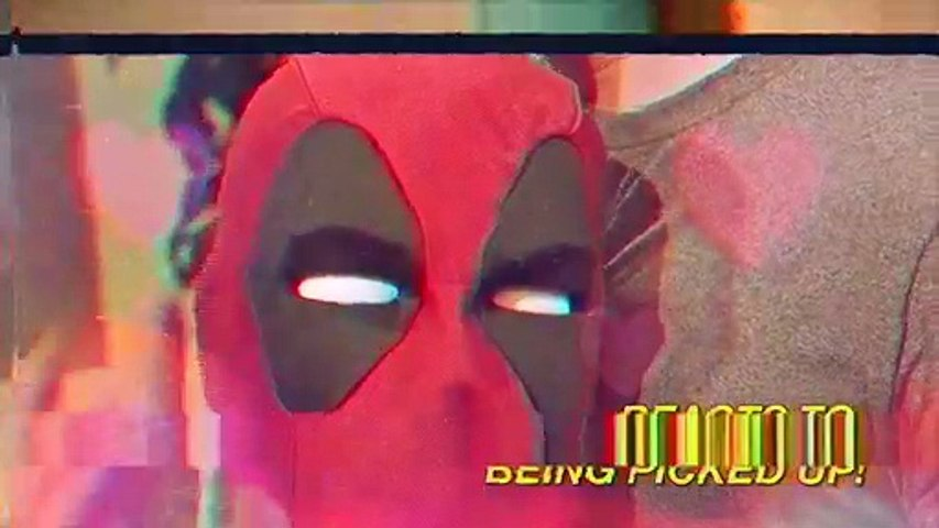 Hasbro - Tête de Deadpool en version animée