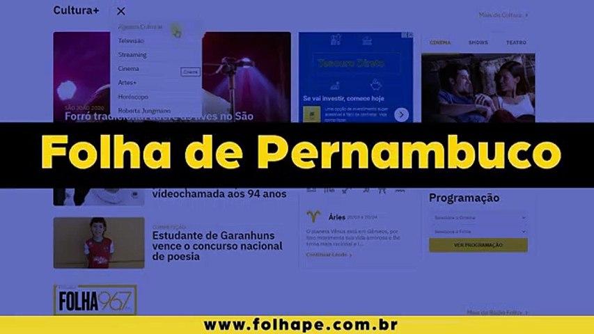 Novo Portal Folhape - Canal Cultura +