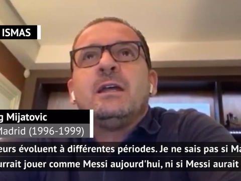 """La Liga - Entre Maradona et Messi, le coeur de Mijatovic balance : """"Je suis quand même très fan de Diego"""""""