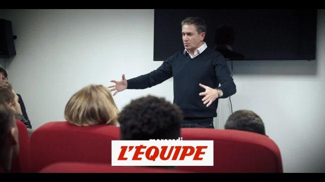 La causerie poignante de Philippe Montanier en hommage «au peuple sang et or» - Foot - L2 - Lens