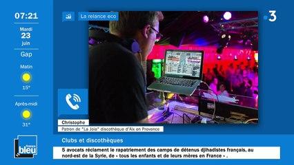 La matinale de France Bleu Provence du 23/06/2020