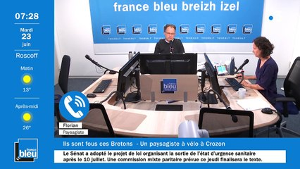 La matinale de France Bleu Breizh Izel du 23/06/2020