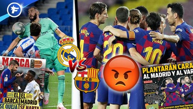 Les joueurs du FC Barcelone indignés par l'arbitrage pro Real Madrid, la Premier League veut aller contre l'UEFA sur le mercato