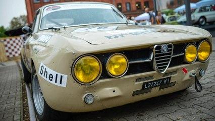 Les voitures de course de légende d'Alfa Romeo