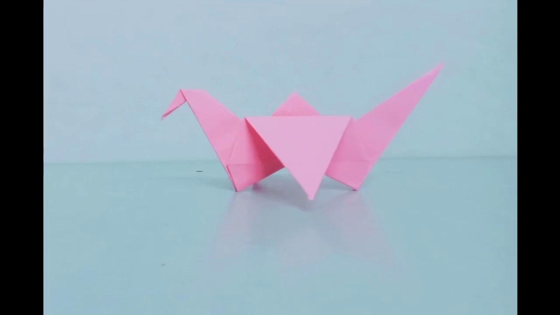 Crane Origami (difficult model) - OrigamiArt.Us | 1080x1920