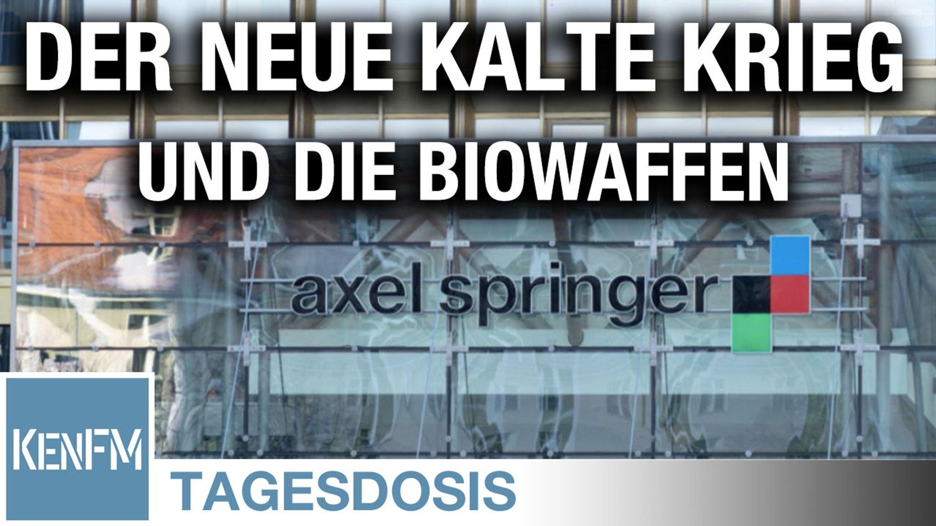 Der Neue Kalte Krieg und die Biowaffen - Tagesdosis 23.6.2020