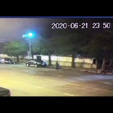 เปิดภาพคนขับวอลโว่ชนสาวท้องดับ เดินโซเซโบกแท็กซี่เผ่นหนี