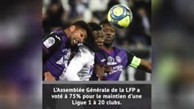 La LFP vote pour une Ligue 1 à 20 clubs