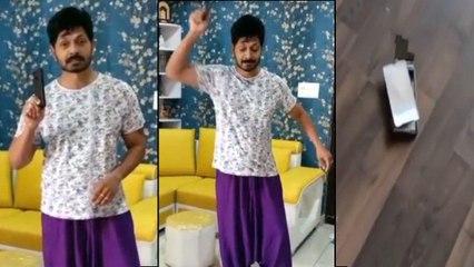 Kaushal Manda Breaks His Mobile Gifted By Bigg Boss