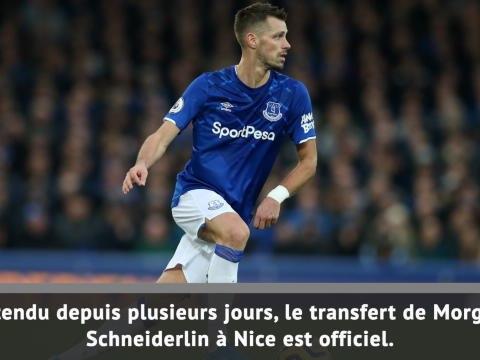 Transferts - Morgan Schneiderlin rejoint l'OGC Nice
