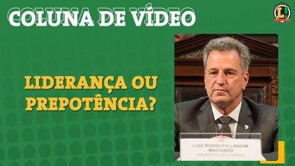 Colunista do L! alerta para postura arrogante de Landim na gestão do Flamengo