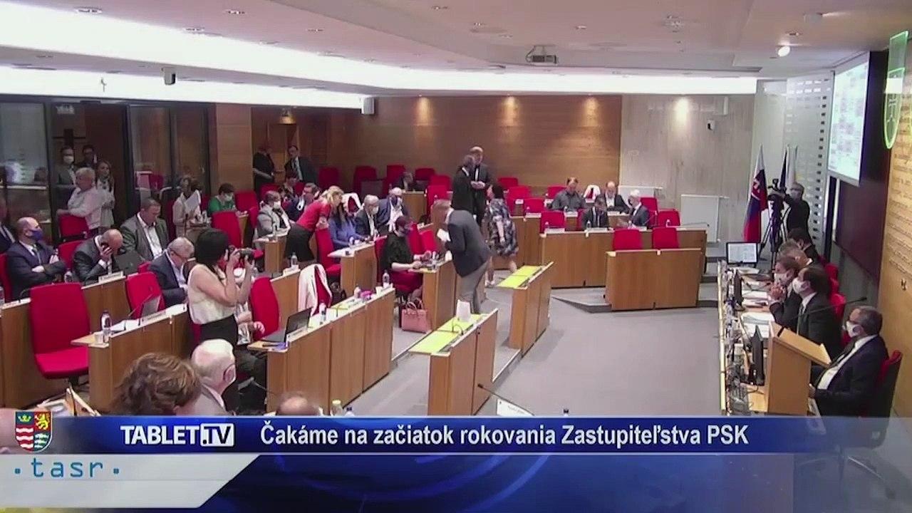 PREŠOV-PSK 21: Záznam zasadnutia Zastupiteľstva Prešovského samosprávneho kraja (PSK)