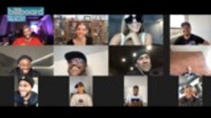 Becky G, Nicky Jam, Piso 21 and El Alfa Join Black Eyed Peas to Talk New Album 'Translation' | Billboard News