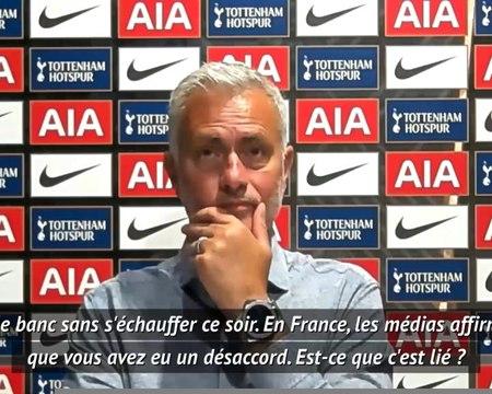"""Tottenham - Mourinho : """"Ndombélé sur le banc ? Je ne peux pas jouer à 12"""""""