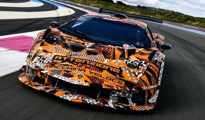 Lamborghini SCV12 - el superdeportivo de Squadra Corse, listo para salir a pista