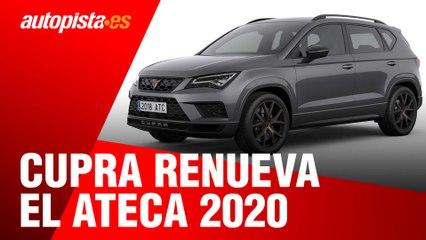 Cupra Ateca 2020: así se actualiza el SUV deportivo