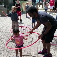 Le hula hoop c'est facile