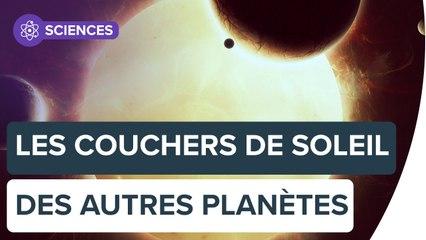 Découvrez à quoi ressemblent les couchers de Soleil sur d'autres planètes | Futura