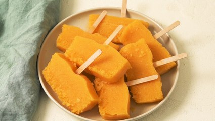 Loaf Pan Mango Pops Are SO Refreshing