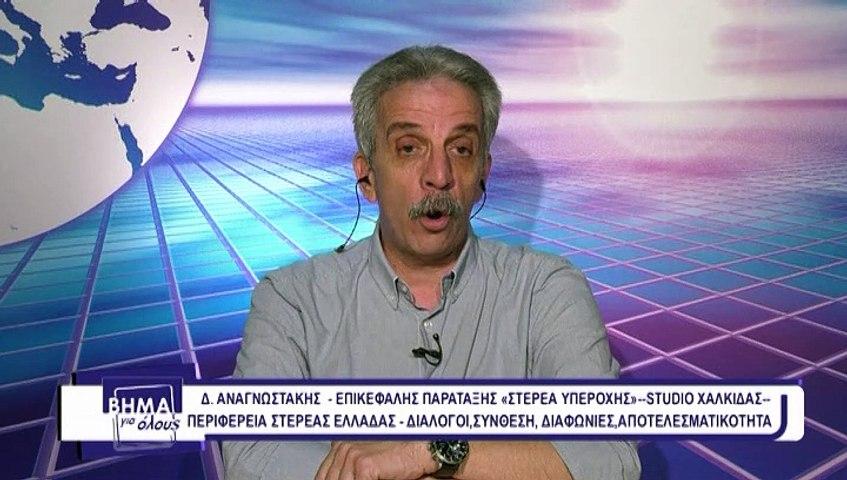 Βήμα για όλους 22-06-2020 Δ. Αναγνωστάκης