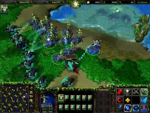 WC3 Classic: Naga Sea Witch on a Snap Dragon Mount