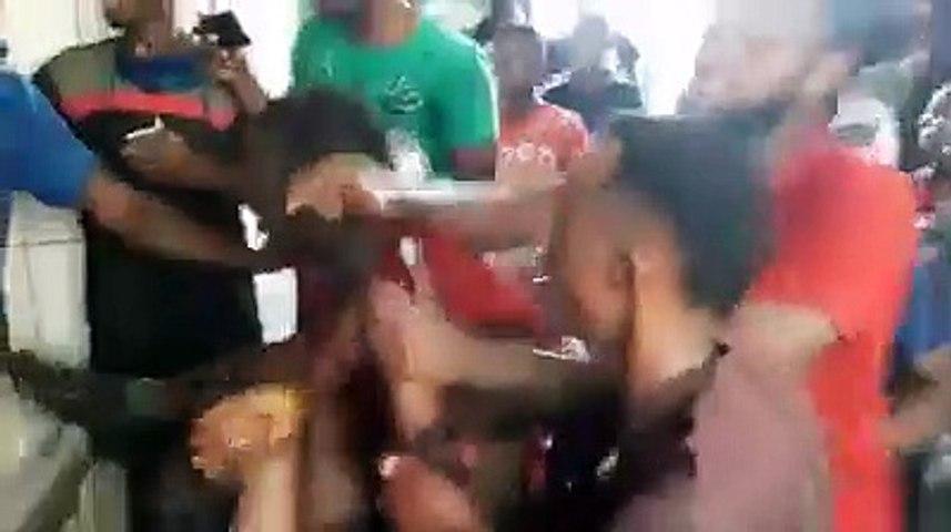 Des blessés dans une manif devant la résidence de Kory Kondiano à Matoto