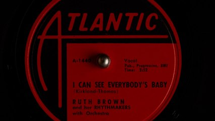 Ruth Brown and her Rhythmakers - I Can See Everybody's Baby [1955]