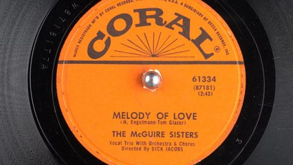The McGuire Sisters [1954] - Melody Of Love