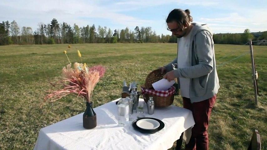 Corona: Schwedisches Restaurant bewirtet nur einen Gast