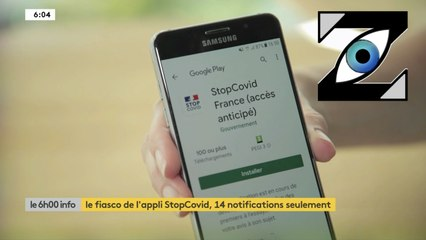 [Zap Télé] Le fiasco de l'application StopCovid ! (25/06/20)