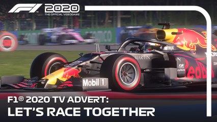 F1 2020's TV Advert   Let's Race Together