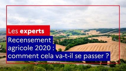 Recensement agricole 2020 : comment cela va-t-il se passer ?