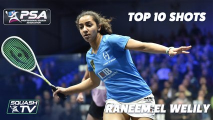 Raneem El Welily Retires - Top 10 Shots