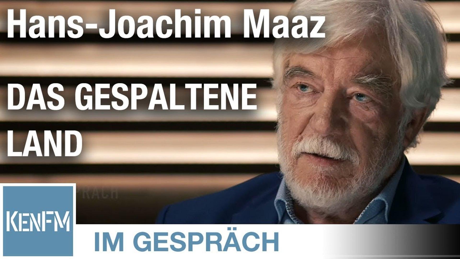 """Im Gespräch: Hans-Joachim Maaz (""""Das gespaltene Land"""")"""