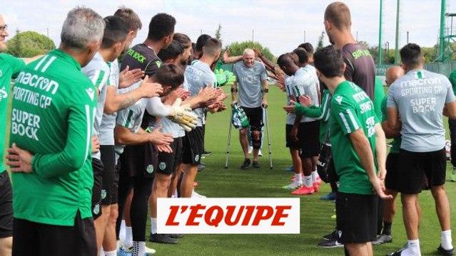 Les adieux émouvants de Jérémy Mathieu au Sporting Portugal - Foot - POR