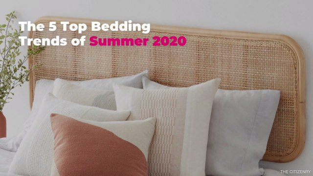 The 5 Top Bedding Trends of Summer 2020